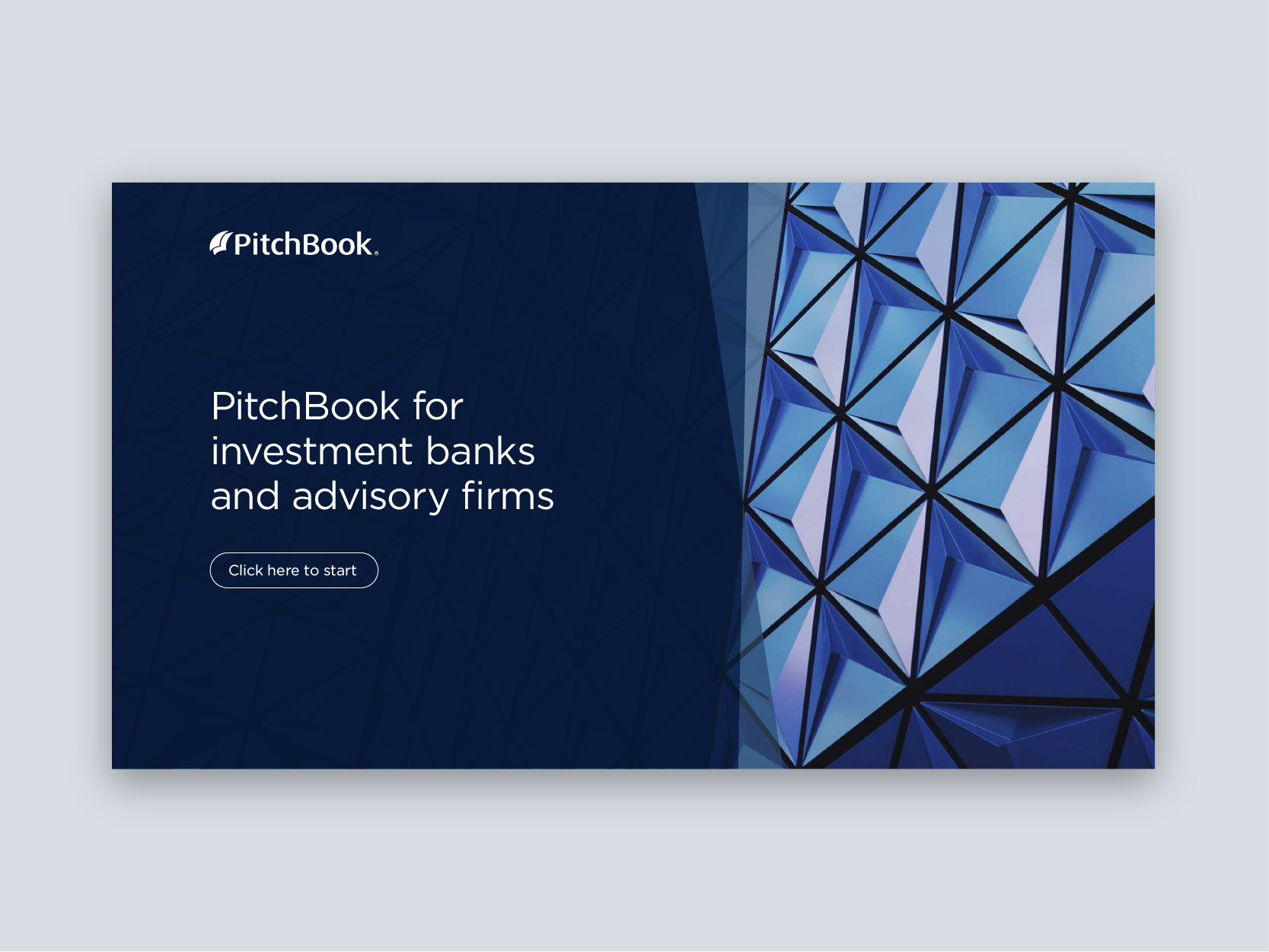 PitchBook – Interactive Sales Document