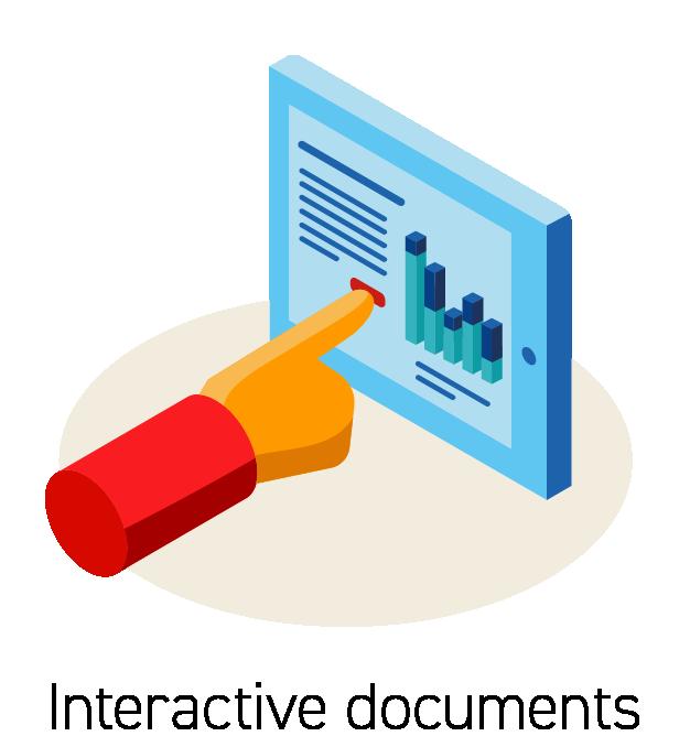 Interactive Document Icon