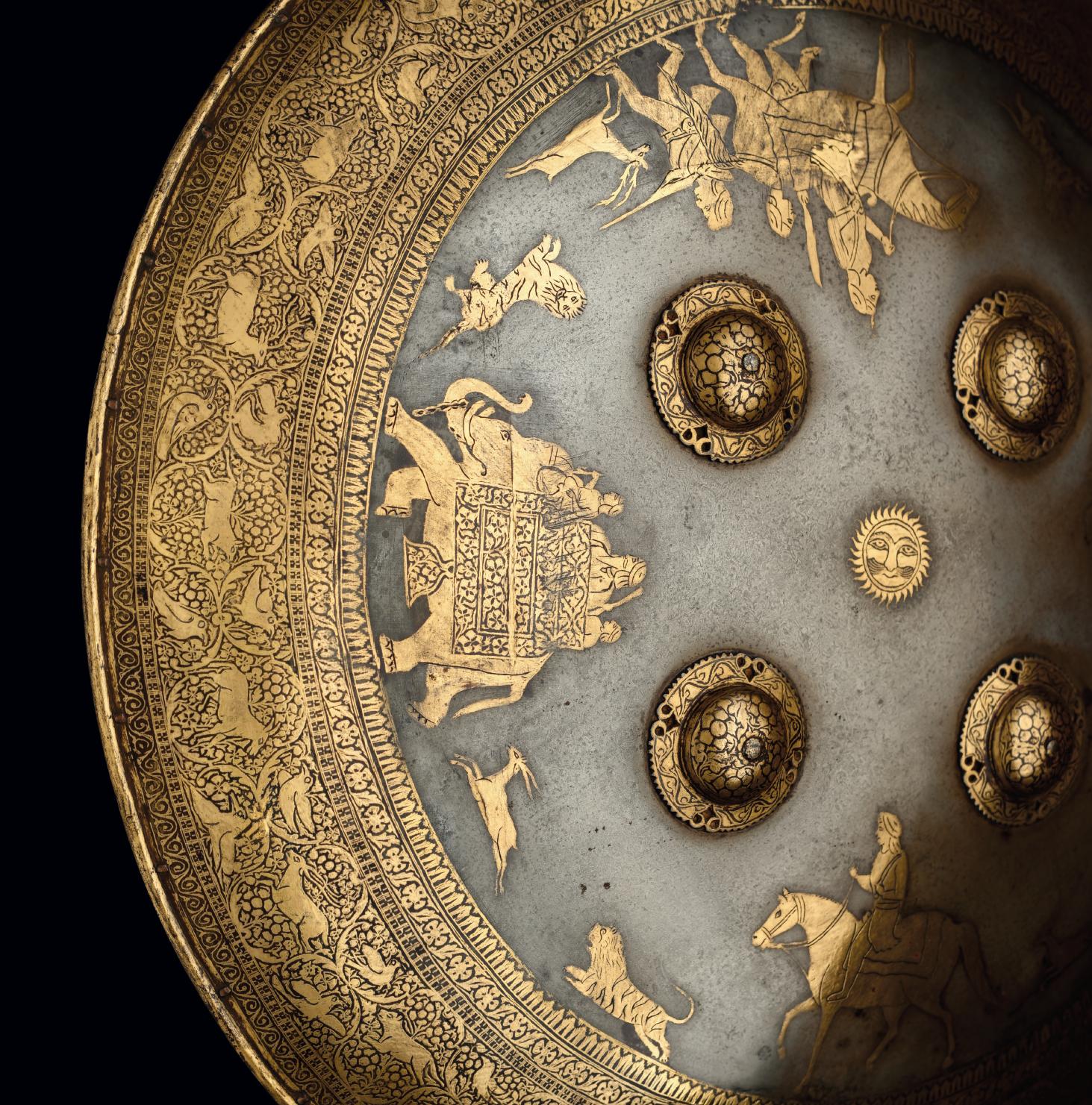 Figurative Sikh shield