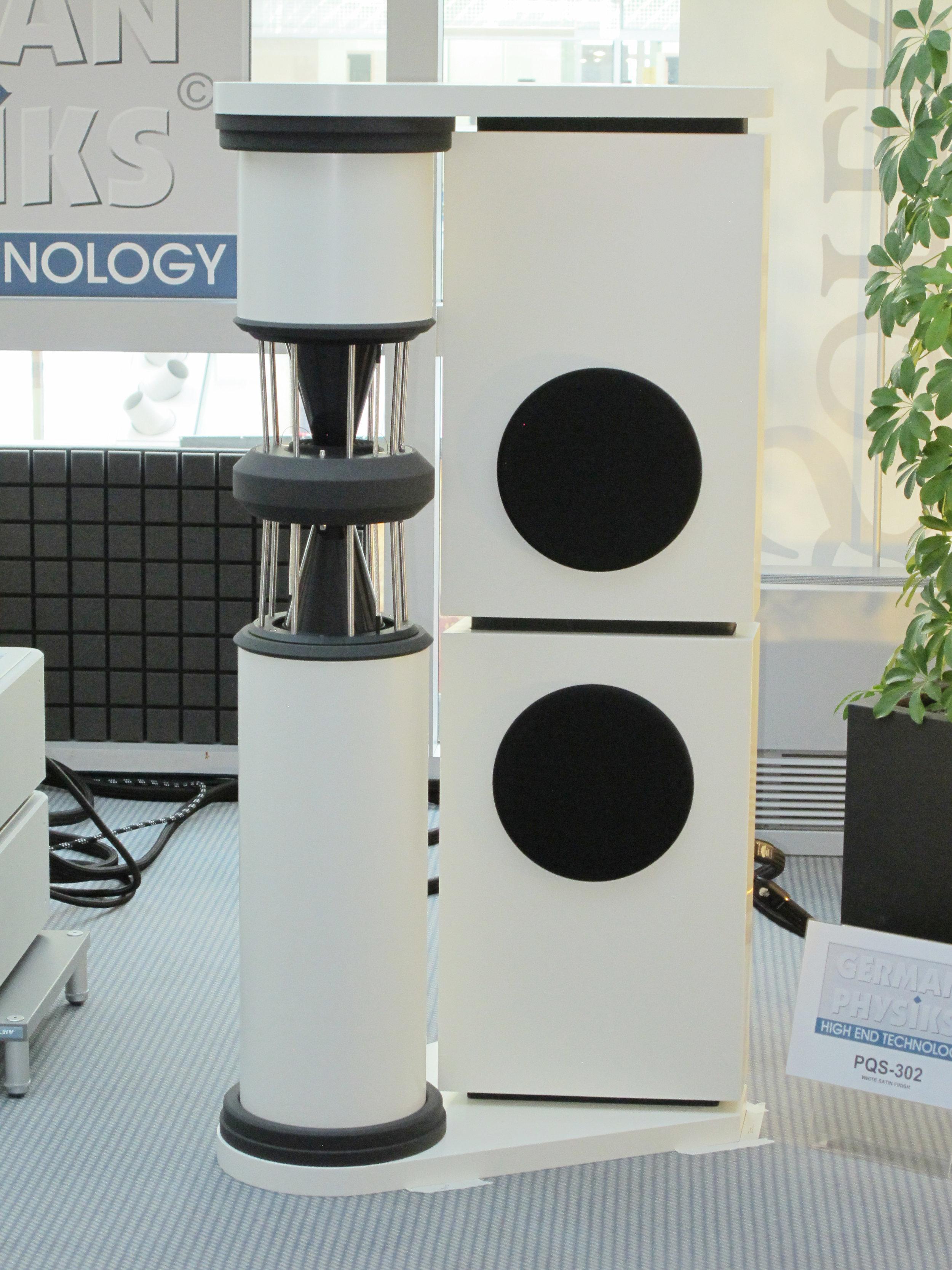 PQS-302 loudspeaker | Munich Hi-Fi Show 2014, Germany