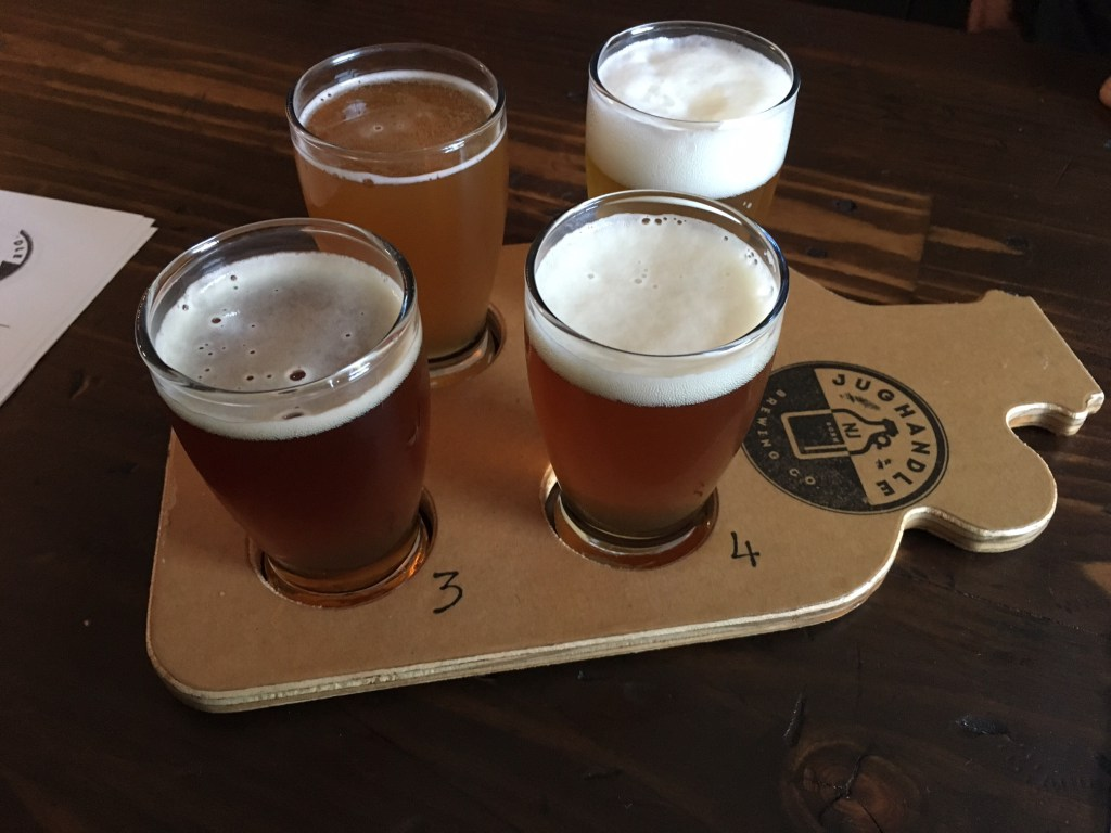 Jughandle Brewery, Tinton Falls - They are a seven barrel brewery that boasts a solid selection featuring a double IPA called