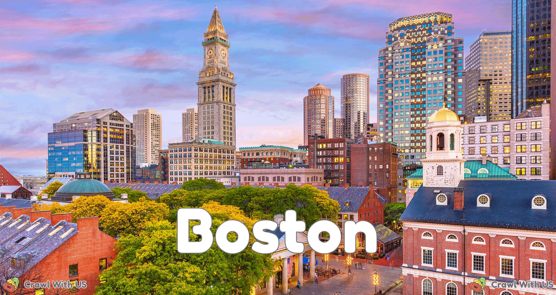 Boston Bar Crawls