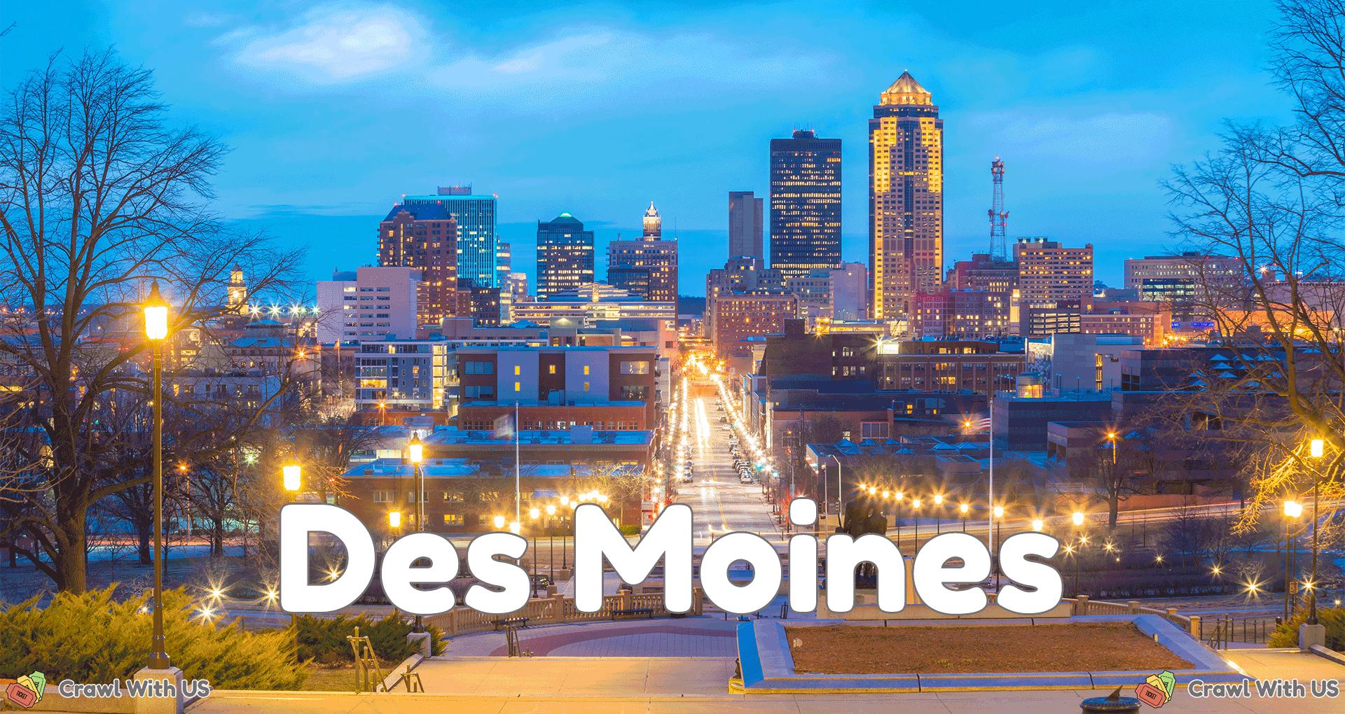 Des Moines Bar Crawls
