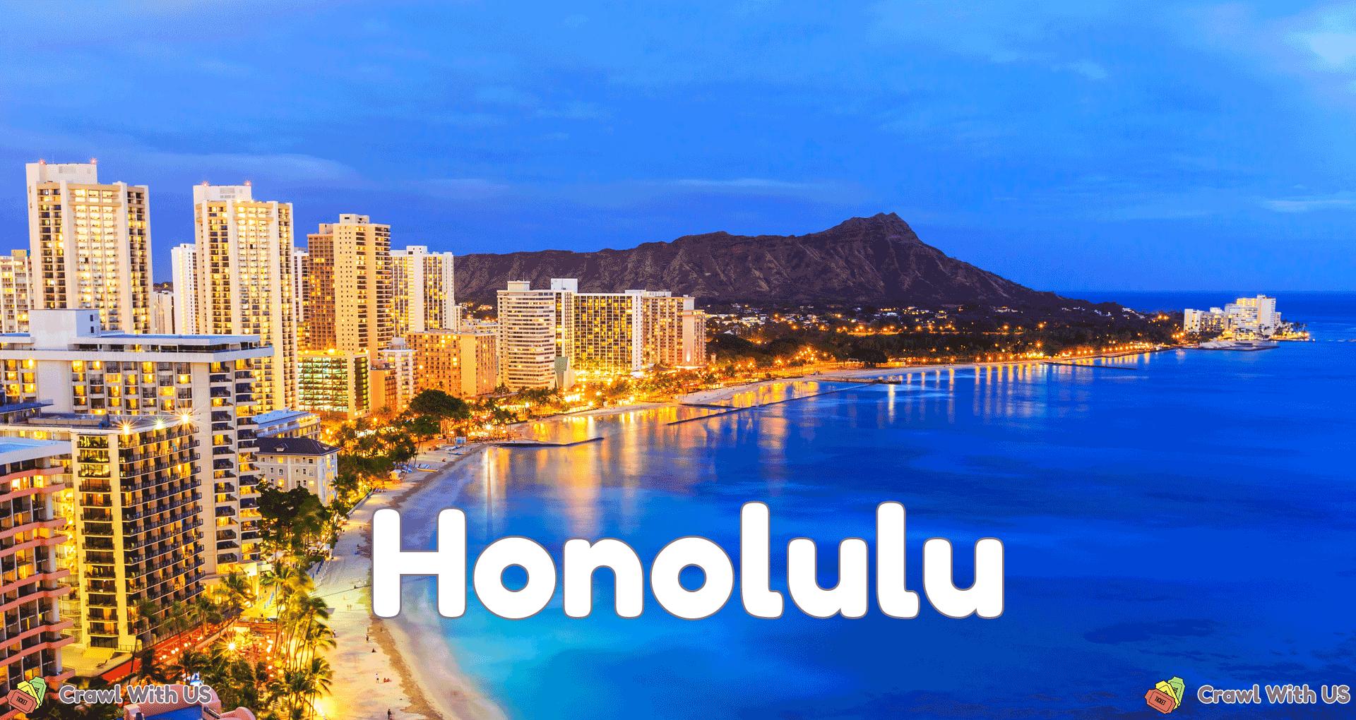 Honolulu Bar Crawls