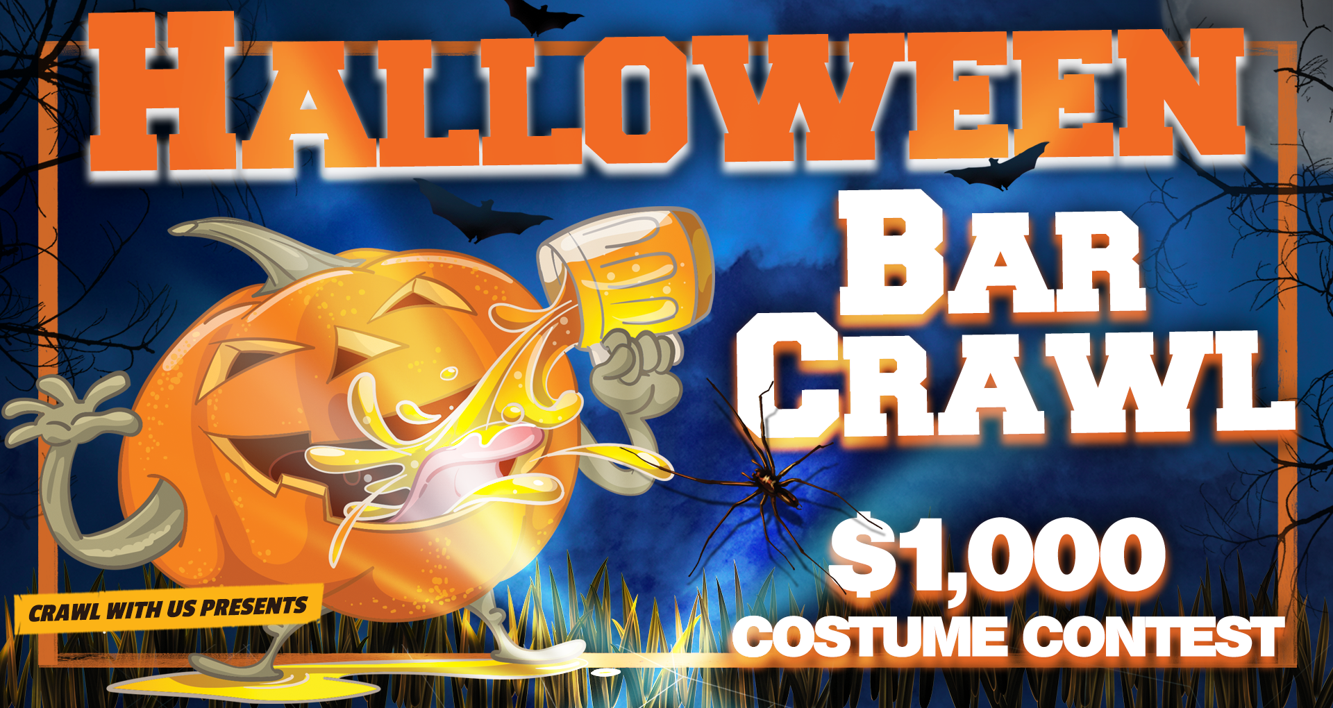Halloween Bar Crawl - Birmingham