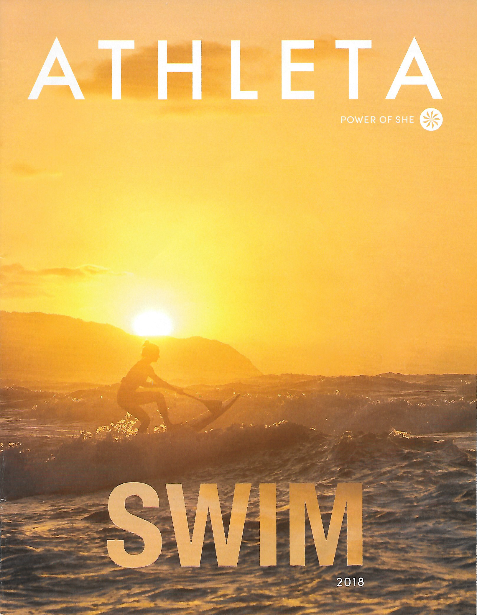 Athleta Swim '18 Catalog Cover