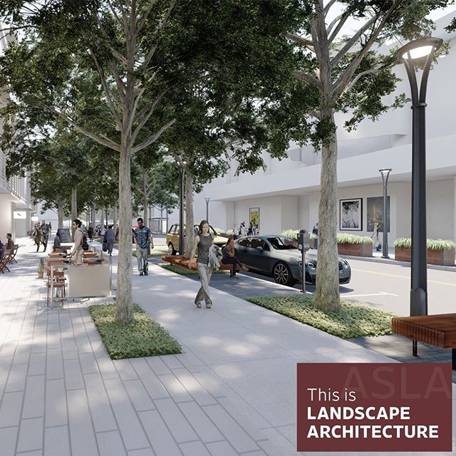 ASLA KY's 2019 Merit Award for Planning and Analysis was awarded to to The BLVD. This work was completed by @gresham_smith and is located in #louisvillekentucky. . . . #wlam2019 #landarch #landscapearchitecture #louisville #muhammadali
