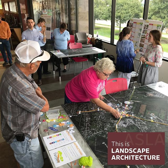 ASLA KY's 2018 Merit Award for Planning and Analysis was awarded to The Fairdale Village Center Plan. This work was completed by @tswdesigngroup based out of Louisville, KY. . . . #wlam2019 #louisville #louisvillekentucky #landarch #landscapearchitecture #fairdale