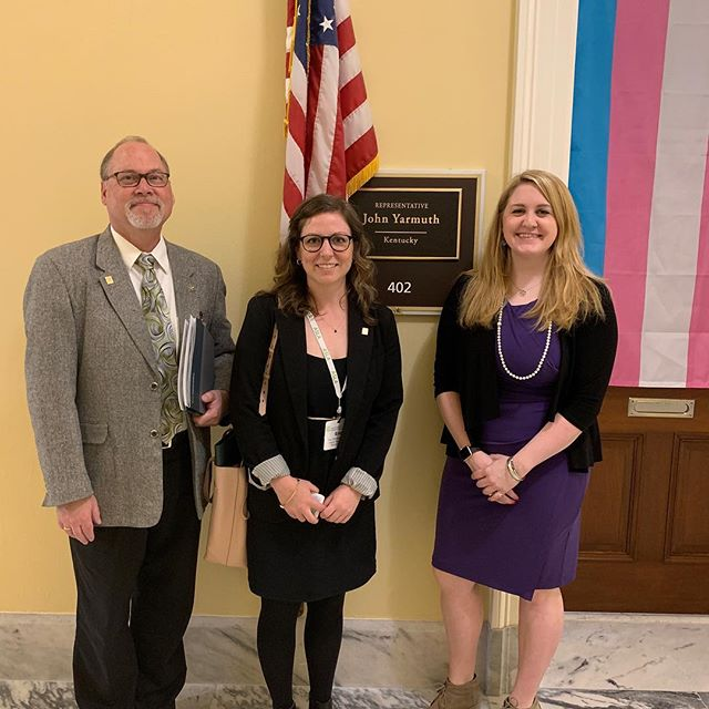 Thanks to @repjohnyarmuth office for meeting with our state chapter to discuss issues and bills that are important to our profession! #aslaadvocates @nationalasla