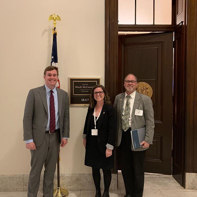 Thanks @mcconnellpress office for meeting with us to discuss issues and legislature important to Landscape Architects! #aslaadvocates