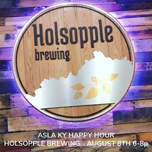 Join us for Happy Hour at @holsopplebrewing in Louisville on August 8th! @bomarindustries will be in the house!  #louisville #landscapearchitecture #landarch