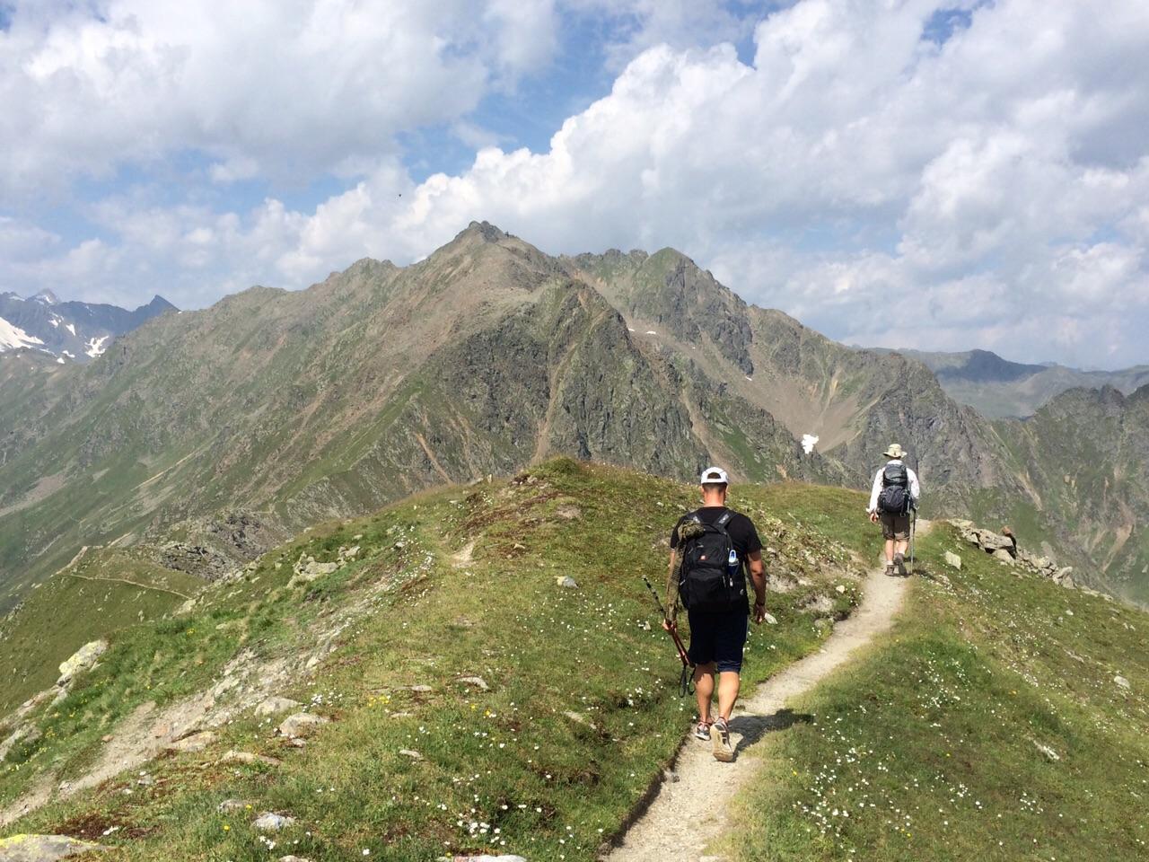 Stubaier Trail, Austria.