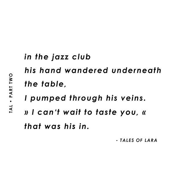 Tal, part 2... tasting you 😏🙏