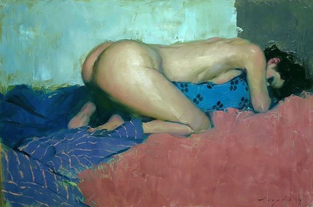 With me he was degenerate, sinful, lusting, wild. With him I was my worst self. Dismissing any promises and responsibilities. With him I burned. I was an animal. I howled for him in the night. 🎨: @malcolmliepke