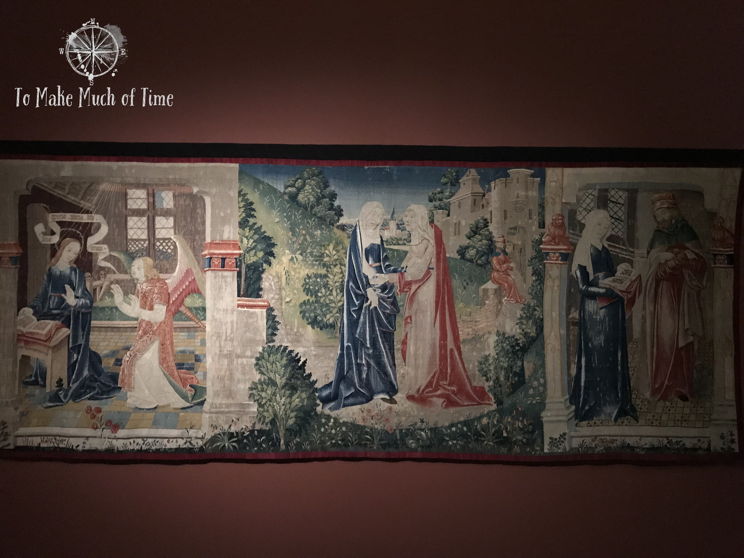 Cluny Museum | Lady and the Unicorn | Medieval Tapestry | Musee de Cluny | Paris France | To Make Much of Time