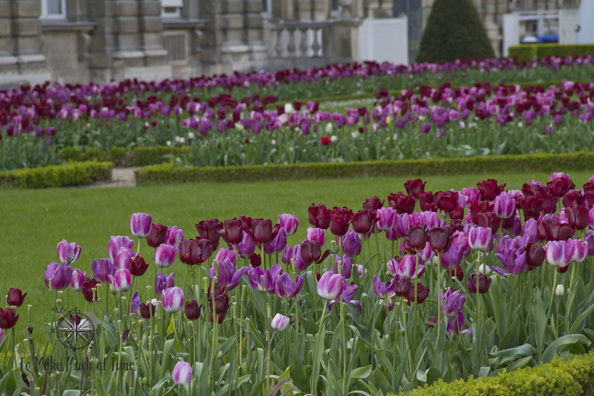 Tulips at Jardin du Luxembourg | Gardens | To Make Much of Time