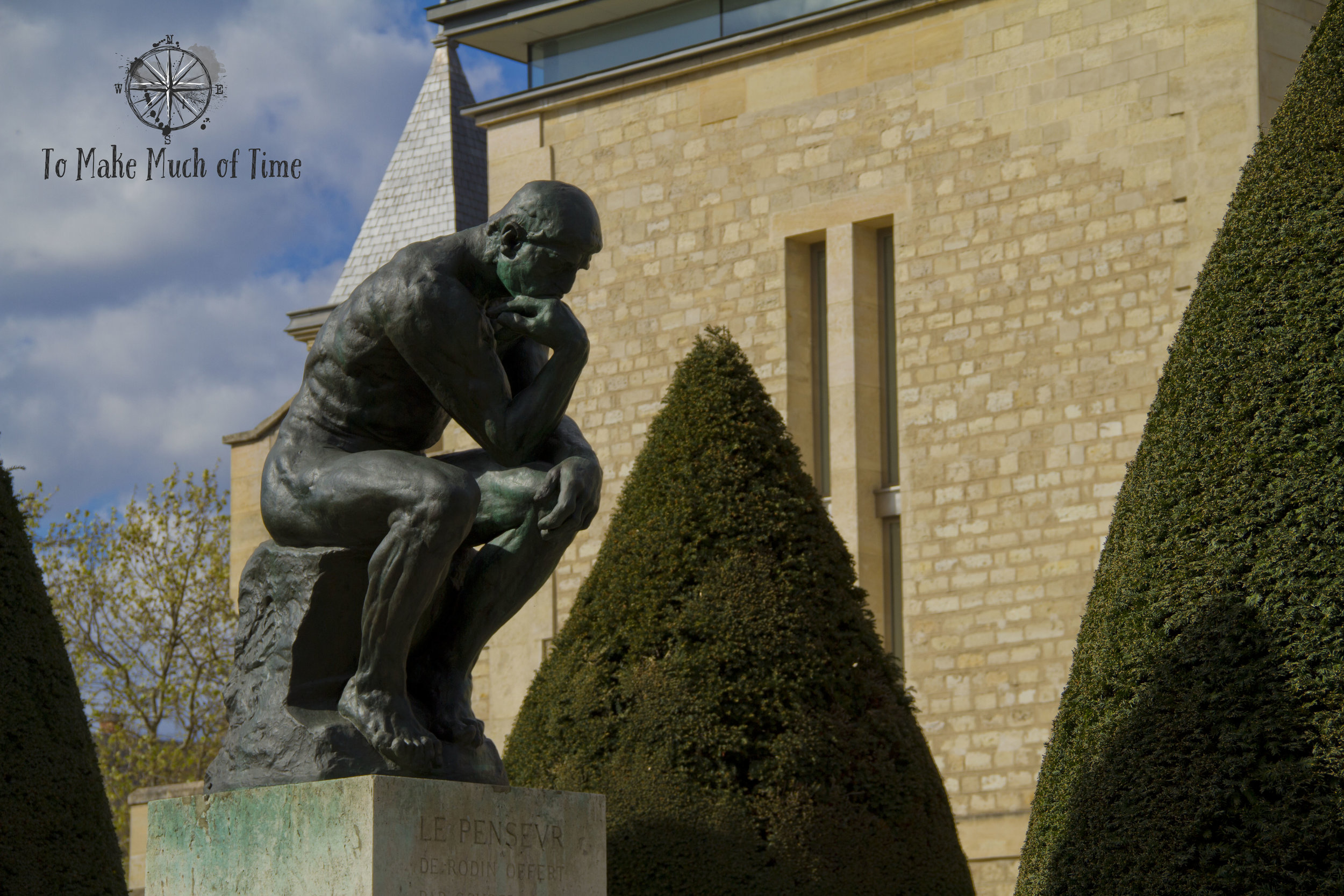 Le Pensevr - The Thinker is a neat sculpture with a fascinating origin story. Read more about it  here