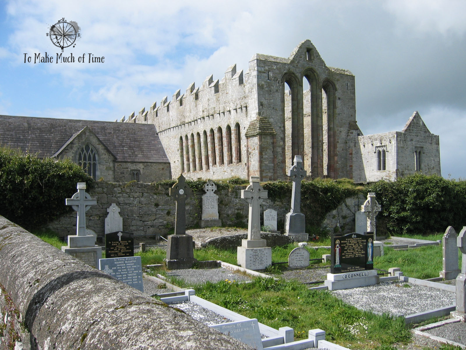 Ireland | Church Ruins | Graveyard | To Make Much of Time