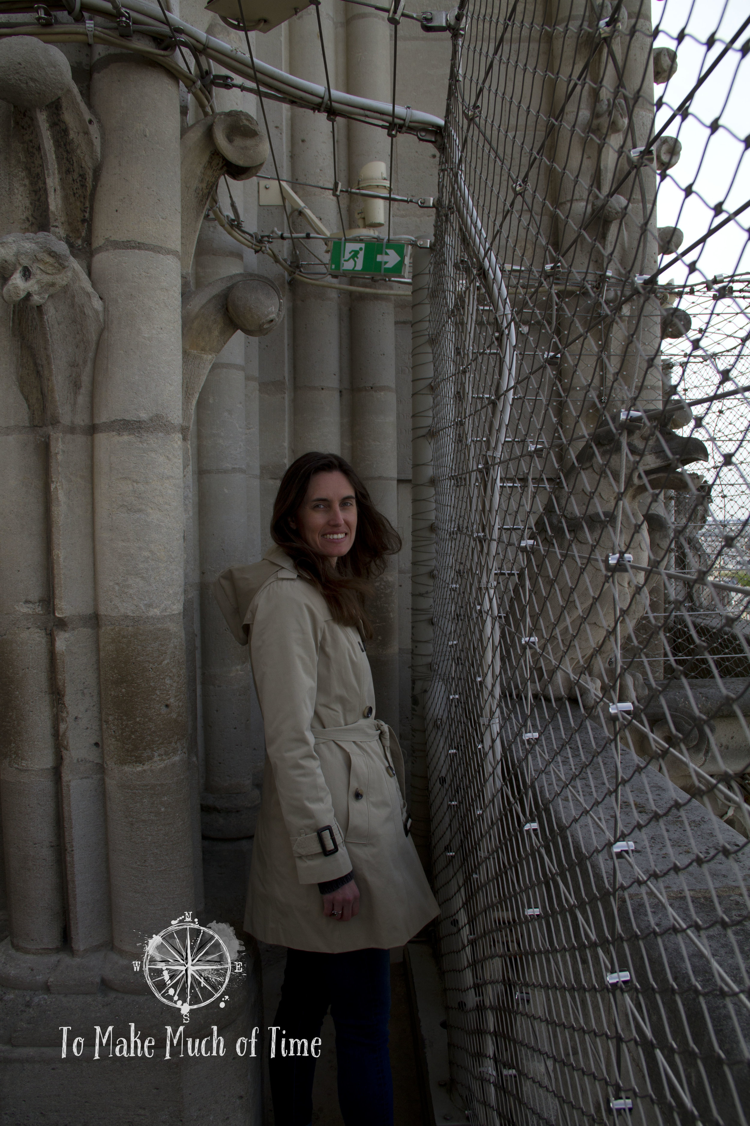 If you have a fear of heights or tight spaces you might want to think twice about ascending to the top of Notre-Dame. It can definitely be colder and breezier, too - our visit was fairly chilly!