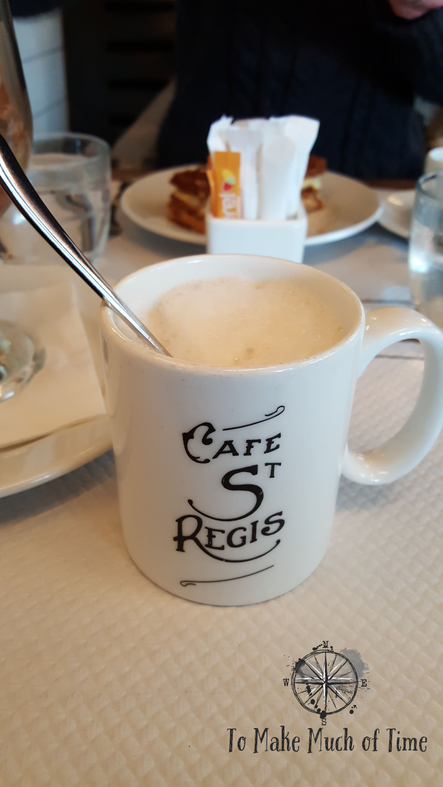 Cafe St Regis, a friendly and relaxed place to eat.