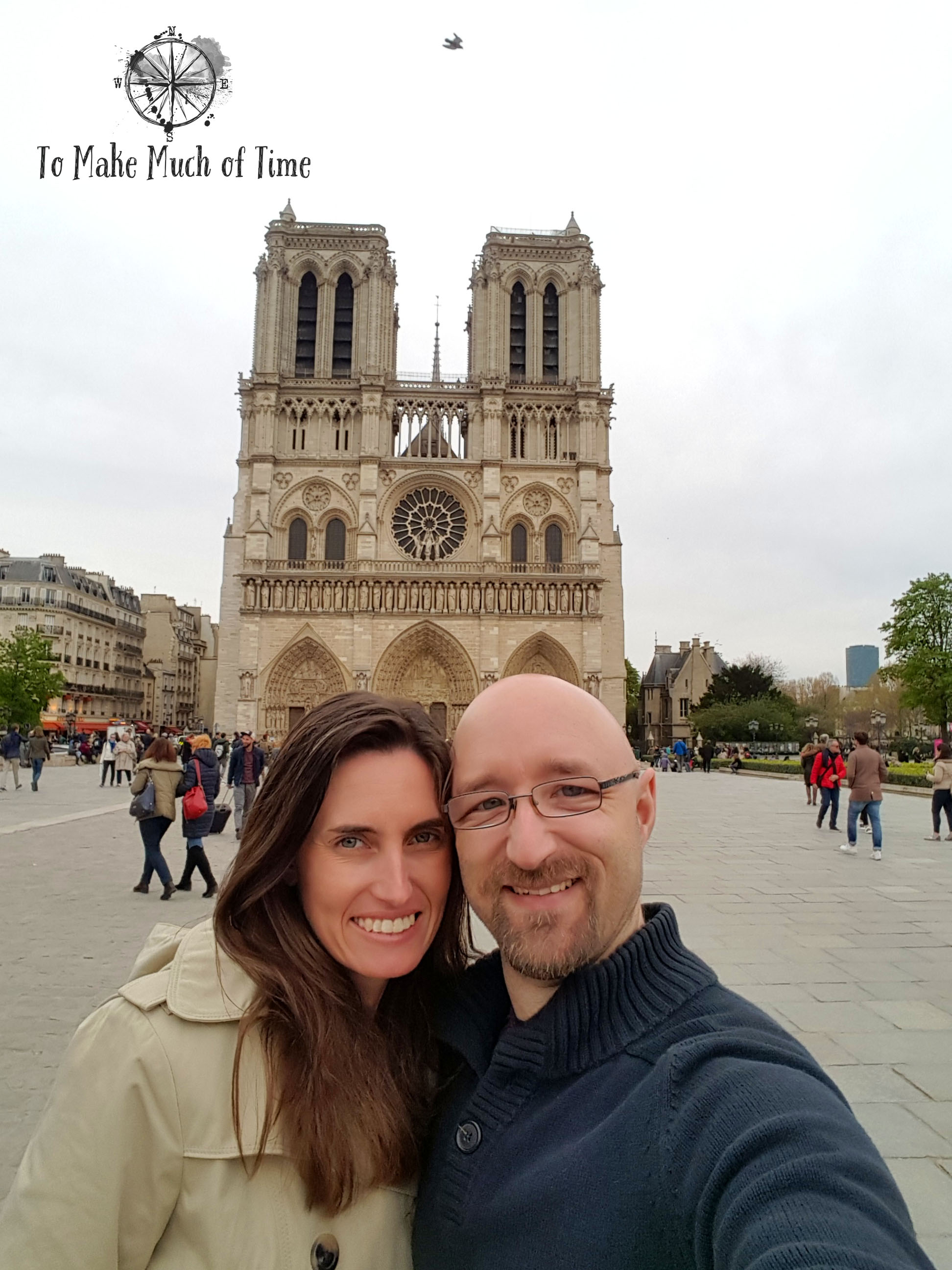 When you are standing in front of Notre-Dame you are obligated to take a selfie!