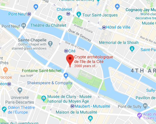 Crypt archaelogique | Paris ruins | Ancient Architecture | Paris France | To Make Much of Time