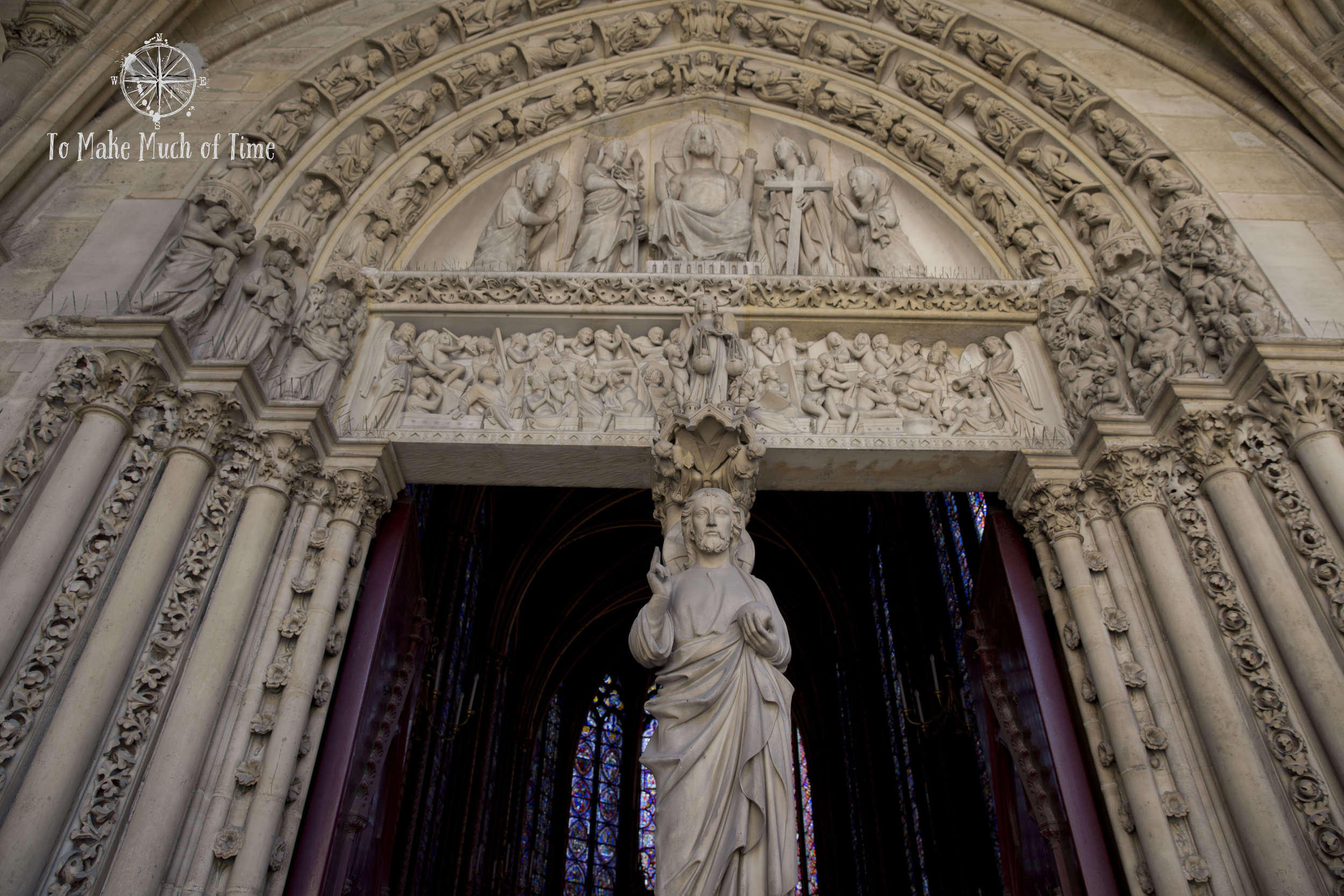 The details of this doorway are impressive.