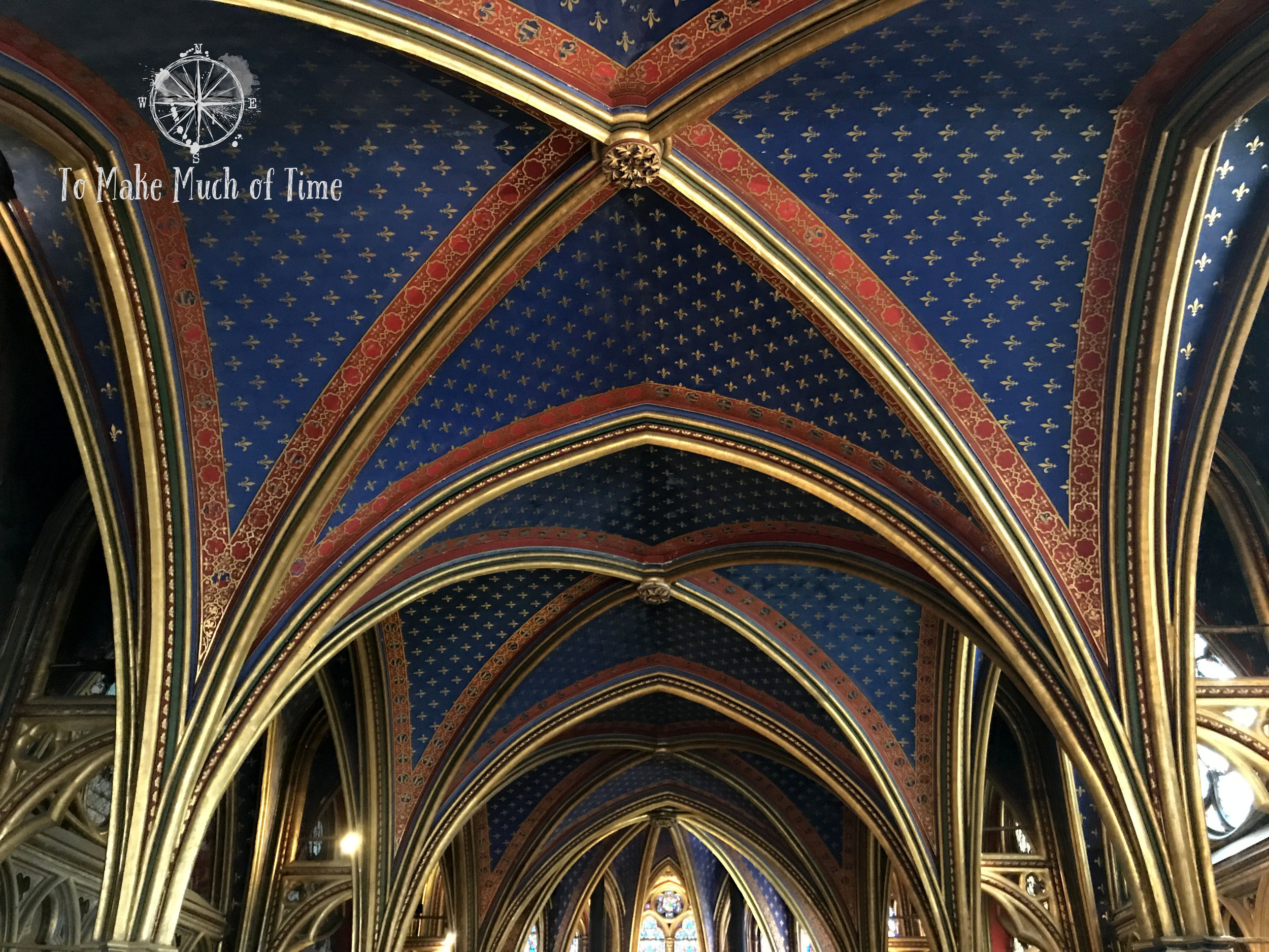 Sainte-Chapelle has details that will take your breath away.