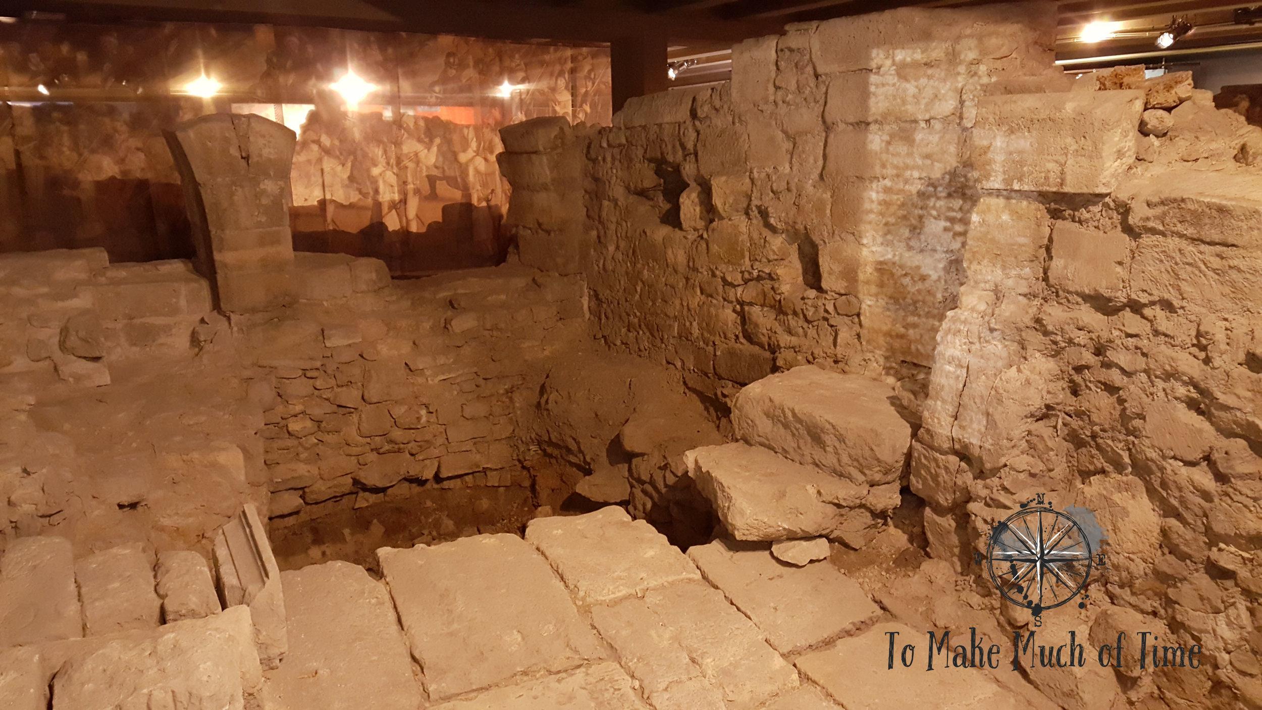 Crypte archéologique de l'île de la Cité | Underground Museum | Paris France | To Make Much of TIme