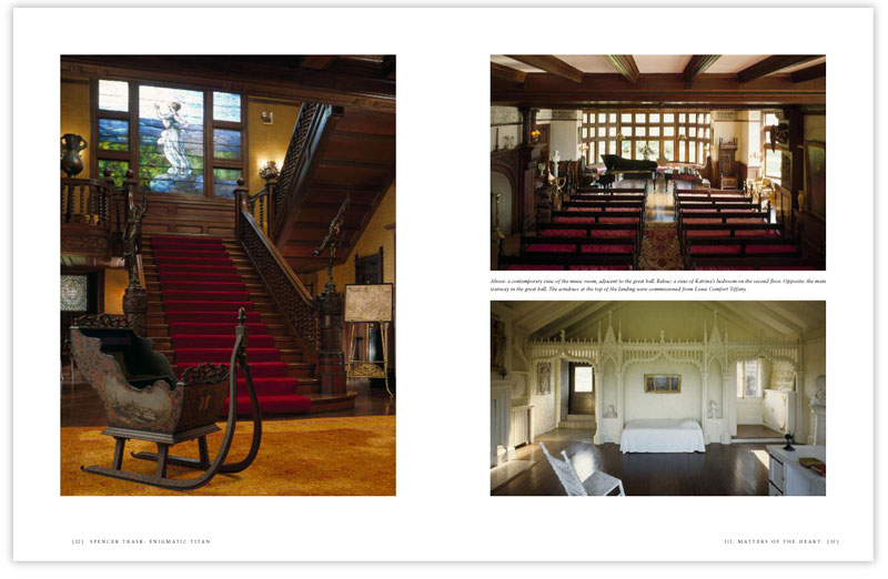 Spencer Trask biography sample photography spread