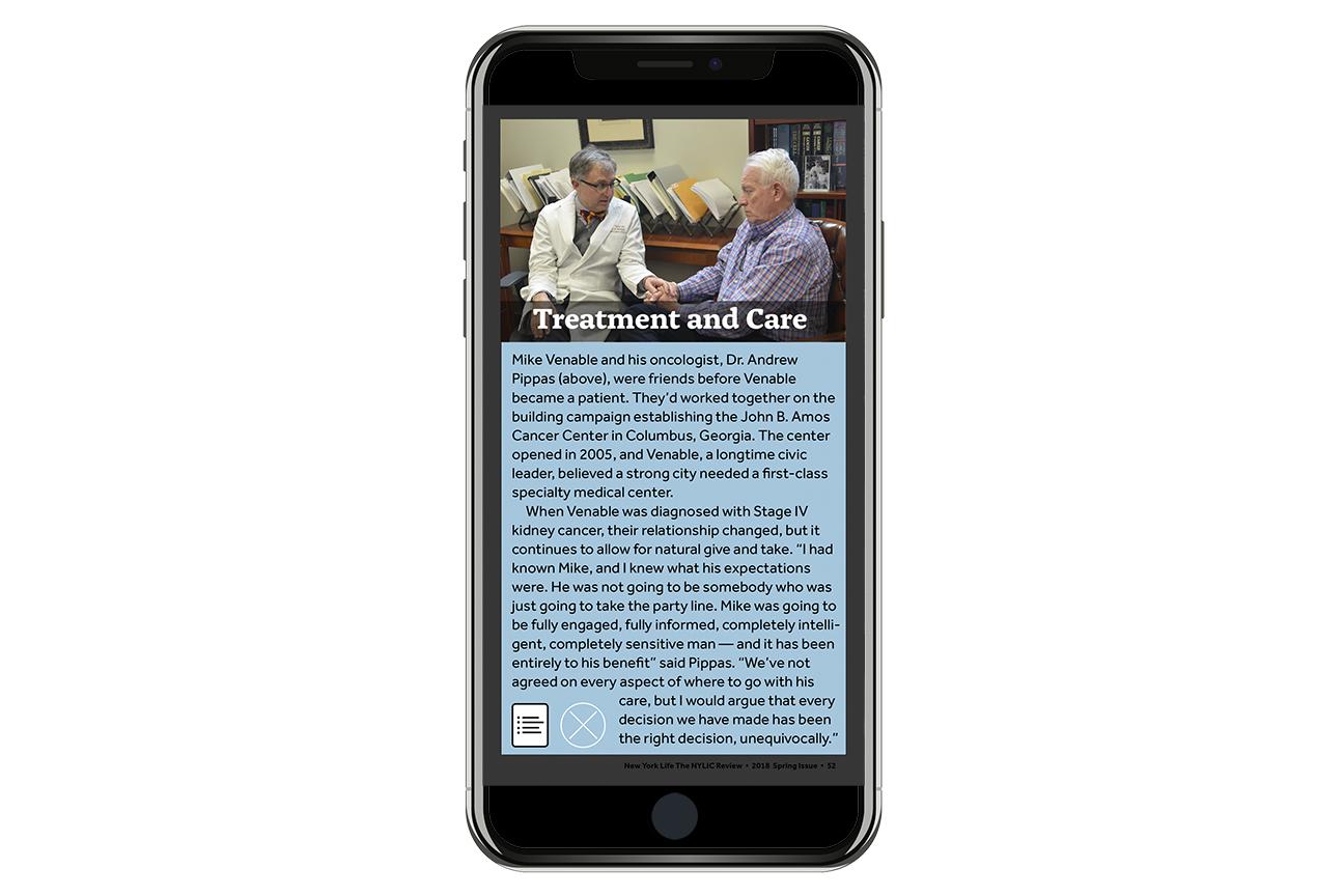 Digital Edition editorial design sample