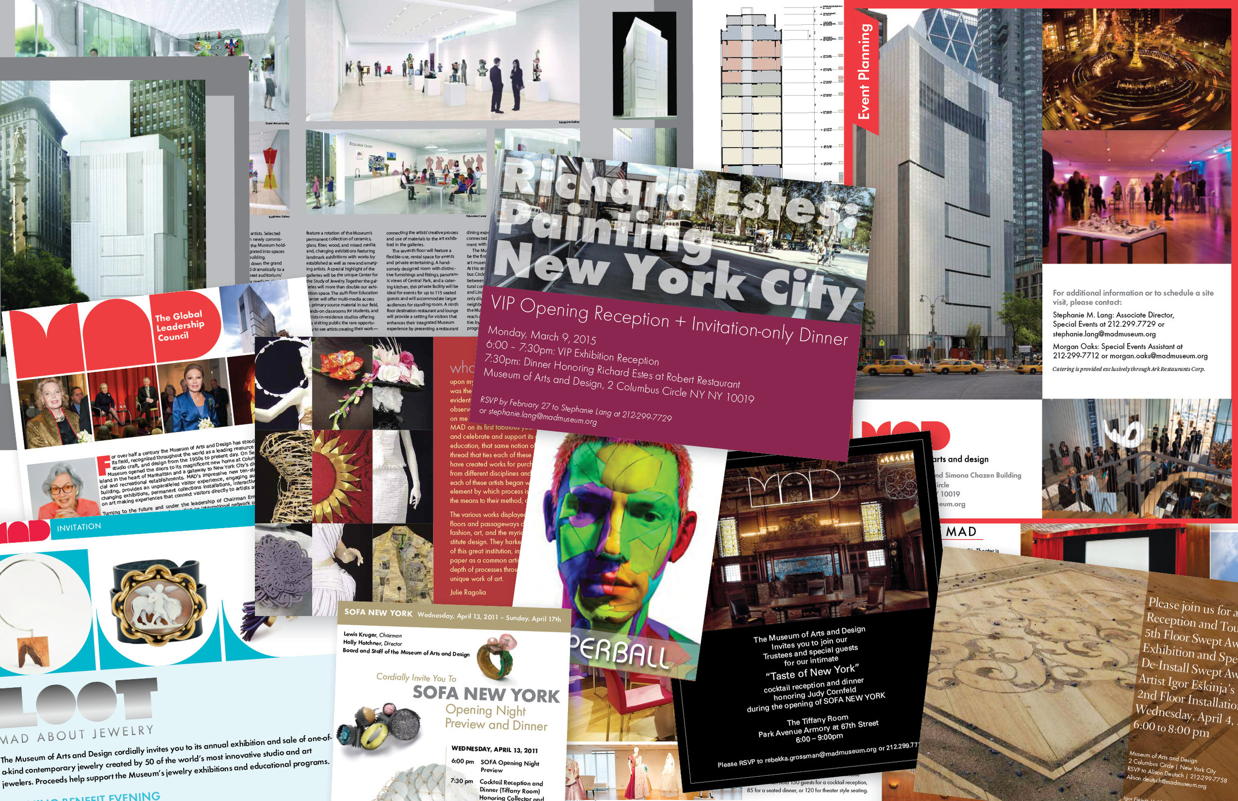 Museum of Arts and Design collateral