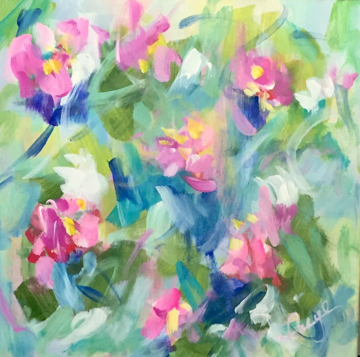 "Painting - ""Rising Up Singing"""