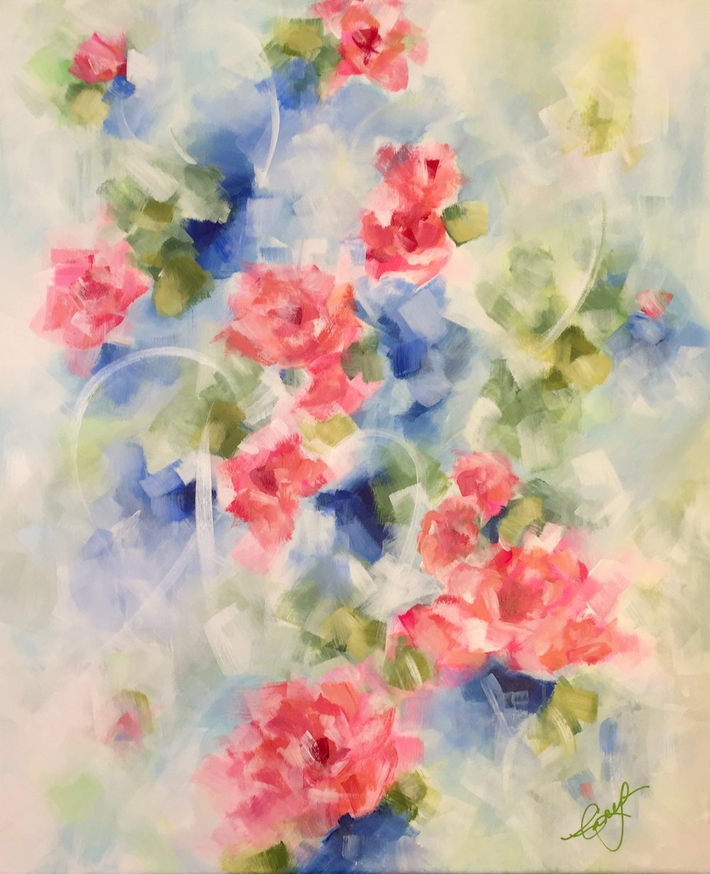 """Painting - """"She Blooms!"""""""