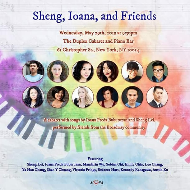 TOMORROW! It's happening TOMORROW NIGHT!! Come see and hear our wonderful cast perform new works in musical theater feat. songs written by @rhart37 @mllemeganlynn @aridynox @mog044 and myself. Link in bio for tix!! * #shengioanaandfriends #cabaret #nyc #theater #musicaltheater #music #songs #newworks #newyorkcity #newyork