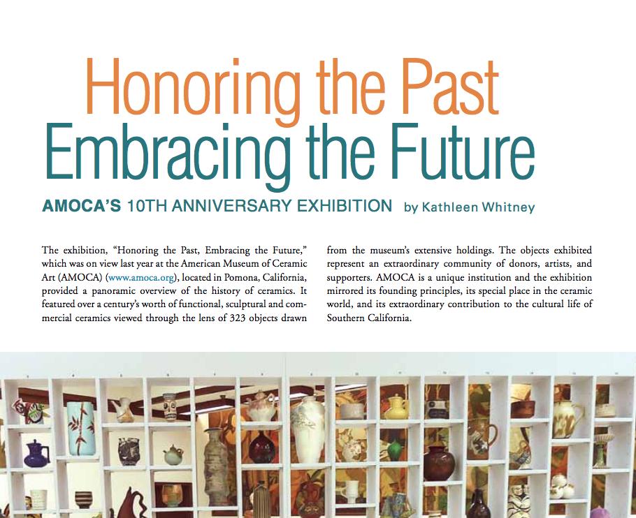 Ceramics Monthly - AMOCA's 10th Anniversary