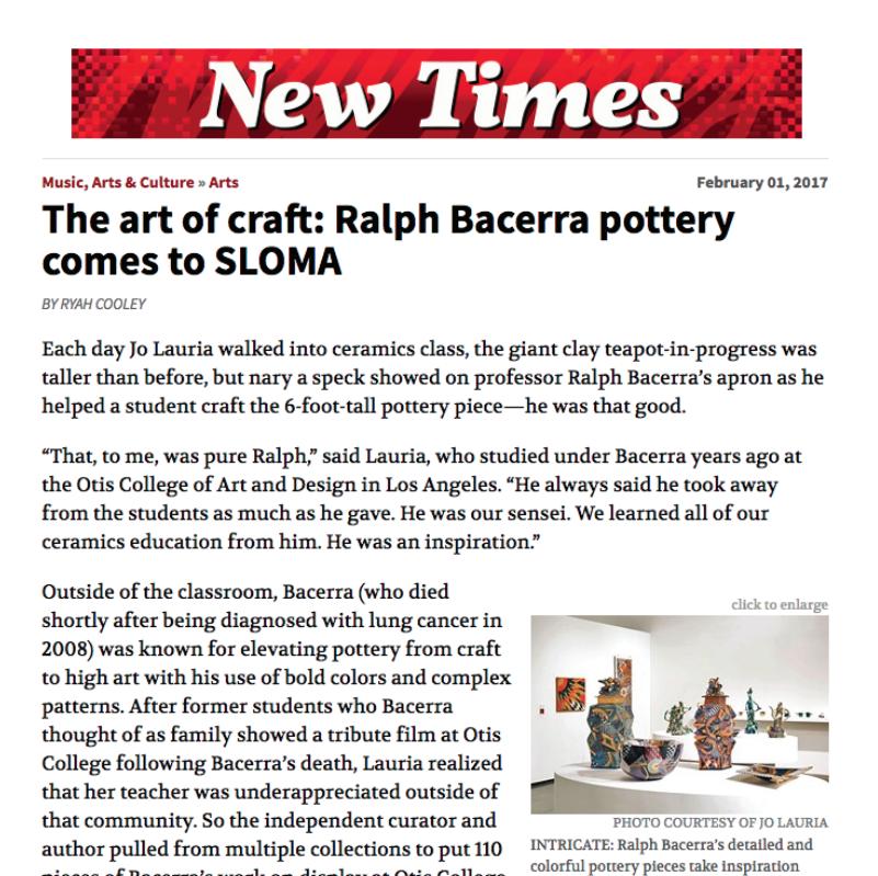 New Times - Ralph Bacerra