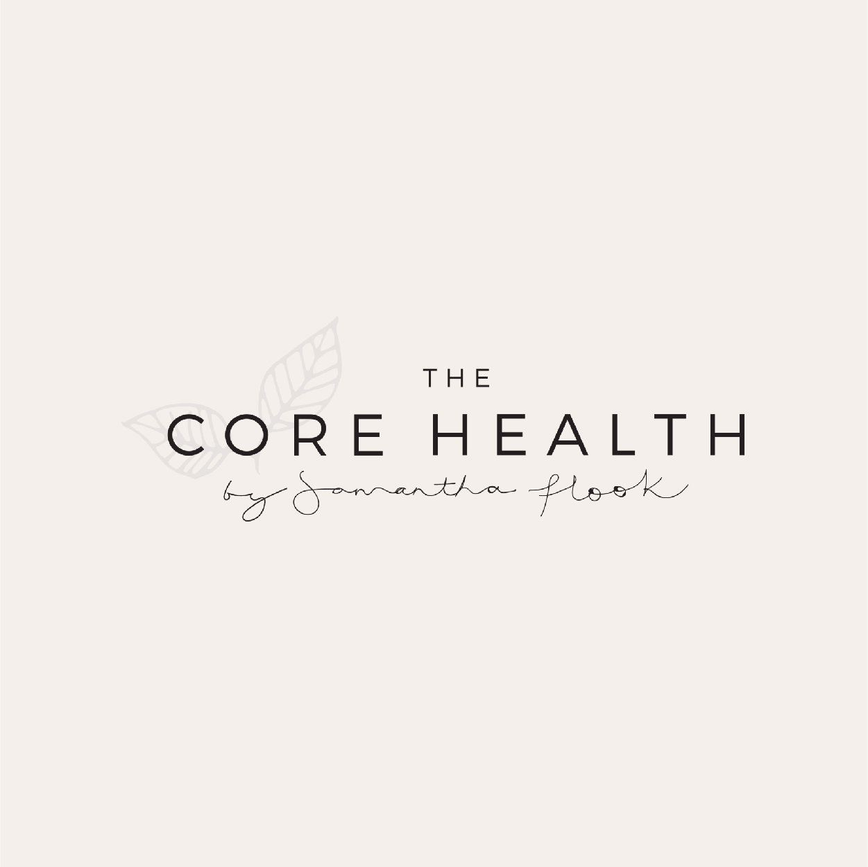 THE CORE HEALTH BY SAMANTHA FLOOK   Website Design