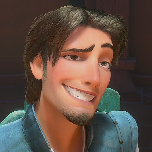 Okay we're fighting. We must know - Flynn Rider, creepy used car salesman orrrrrr loveable charmer?!?! This house is truly divided. Thnx. . . . #disney #princes #tangled #nextepisode #springbreak #toughquestions #popculture