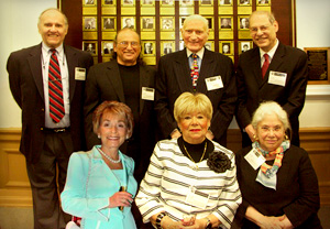 2010 Honorees    Top Row: Ronald Dubner, Joel Zwick, Herbert Okun, Robert Dallek. Bottom row: Judith Sheindlin, Mrs. Cal Abrams, Deborah Poritz