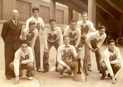 Madison Cheerleaders, Circa Early '40's