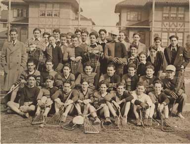 Madison Lacrosse Team 1930