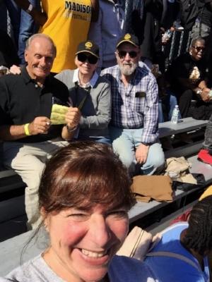 Michael Grossman, Marty Alpert, Marc Kramer. (front) Jane Carbonaro