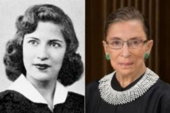 Ruth Bader Ginsburg, Class of 1950