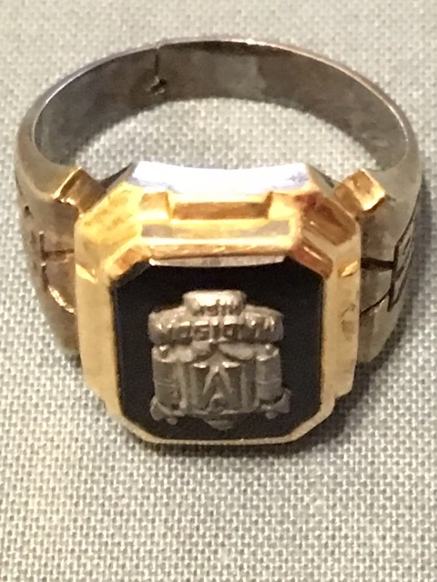 Mystery of the Ring – Madison Version - A resident of Lake Ronkonkoma, NY contacted President Marty Alpert last fall. He found a Madison ring on the beach. It's a boy's ring, Class of 1956, initials inside seem to be RMK but could be RMH. This very nice man sent this to us and we are holding on to it until claimed. It's in our hands right now but in the Spring, we will place it in the Alumni Memorabilia Room at Madison, on display. If you think this is your ring or that of someone you know, please contact Marty at admin@jamesmadisonalumni.org.