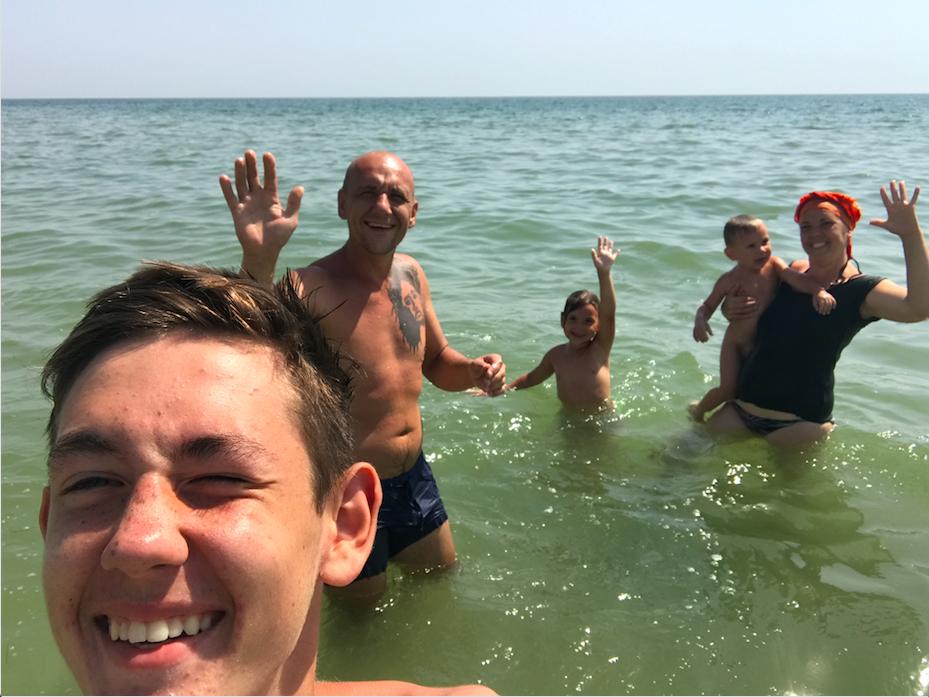Happy Ukrainian family
