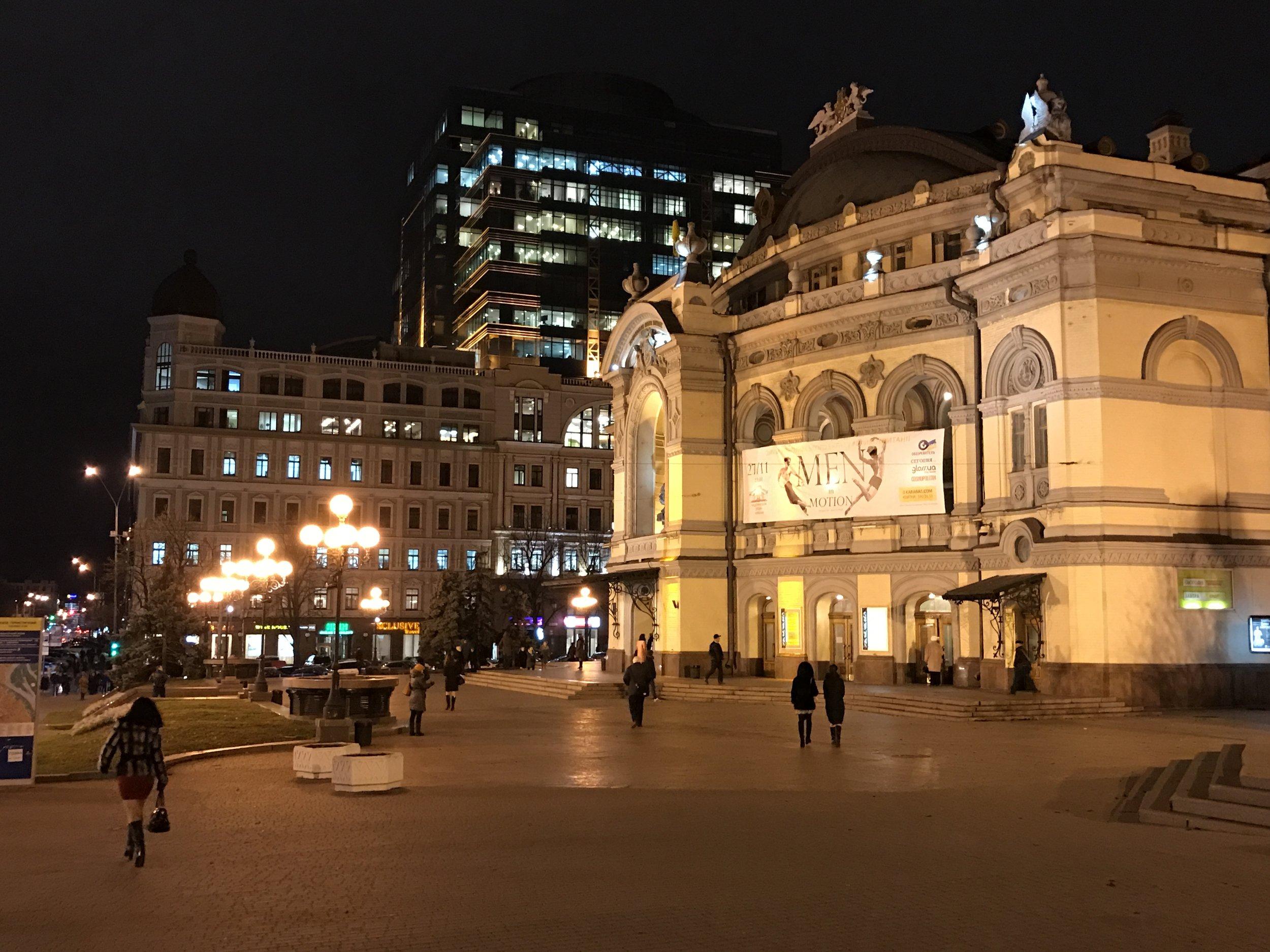 National Opera of Ukraine in Kyiv
