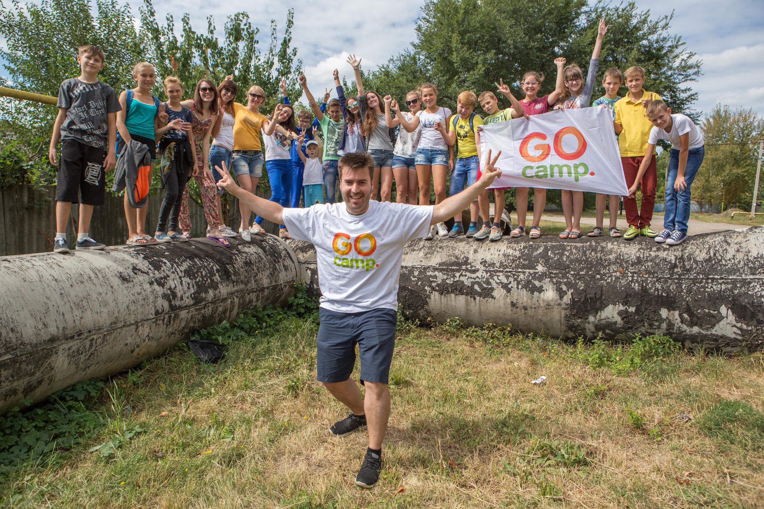 GO camp in Ukraine