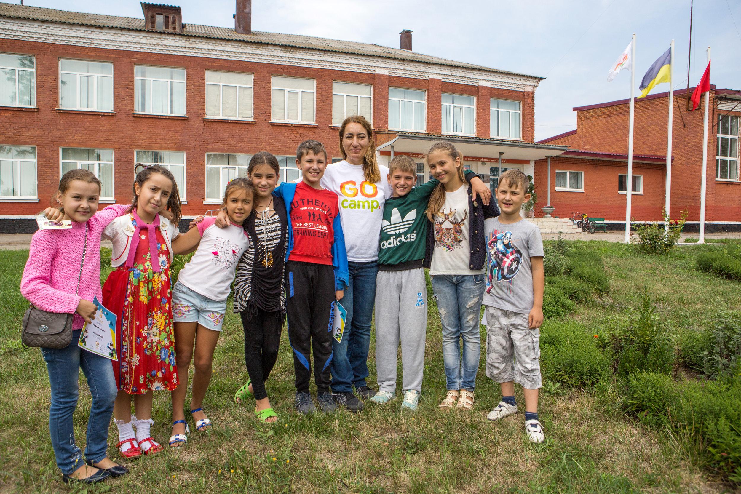Children in GO camp
