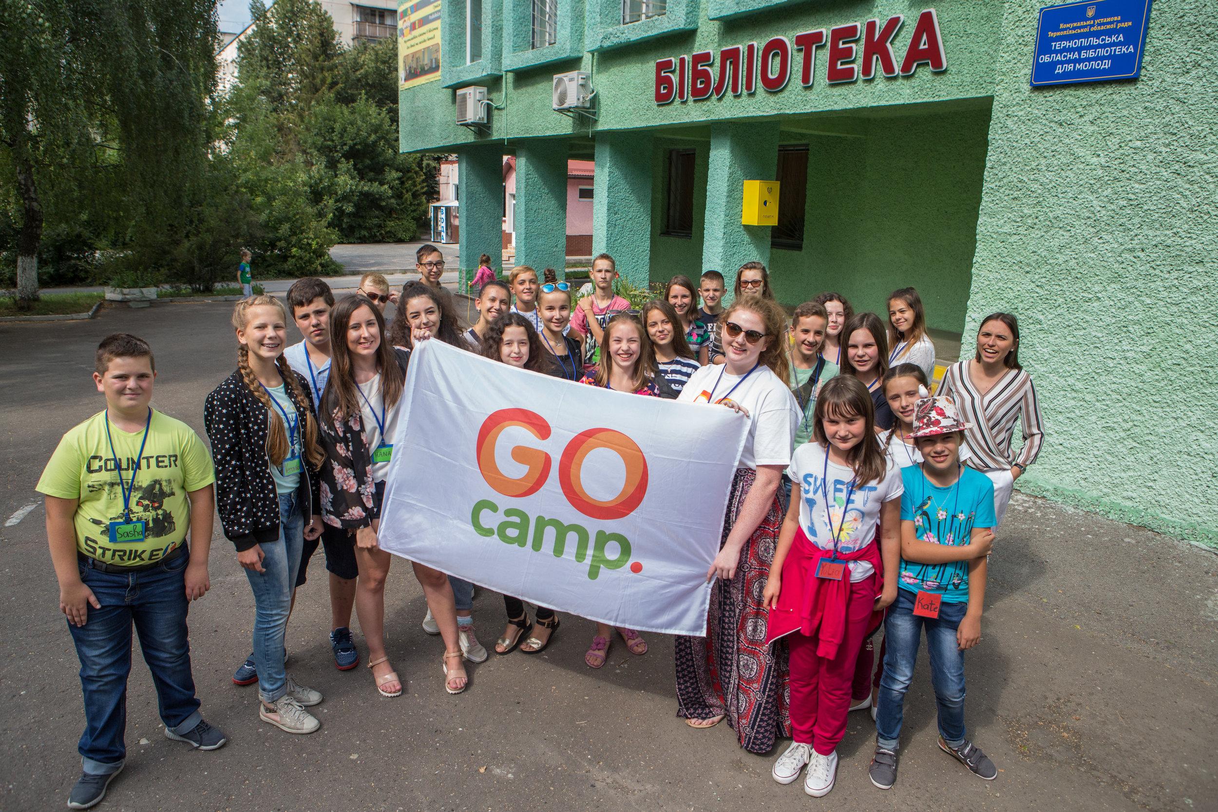 Children & GO camp in Ukraine